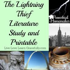 lightning thief unit study printable proverbial homemaker
