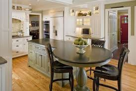 Kitchen Island With Table Seating 37 Multifunctional Kitchen Islands With Seating Extensions