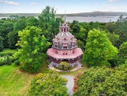 octagonal houses live in an octagon shaped victorian style home in westchester for