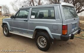 1985 jeep cherokee suv item da6008 sold april 26 vehicl