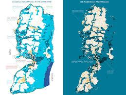 West Bank Map The Palestinian Archipelago 2010 Léopold Lambert