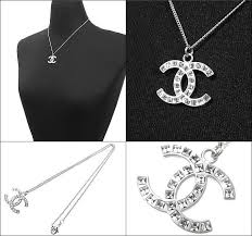 silver necklace sale images Import collection rakuten global market and chanel chanel jpg
