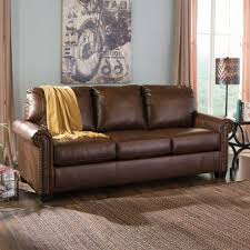 Queen Sleeper Sofa Leather by Captivating Leather Queen Sleeper Sofa Best Home Design Ideas With