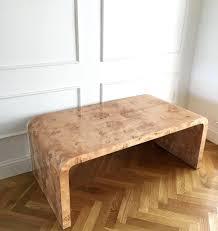 lucite waterfall coffee table waterfall coffee table com clear glass waterfall coffee table