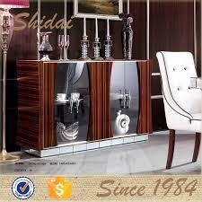 Buffet Furniture Modern by Modern Buffet Table With Glass Door Modern Buffet Cabinet