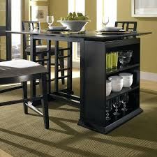 Kitchen Bar Table With Storage Kitchen Table With Storage Cabinet Simple Dining Room Design With