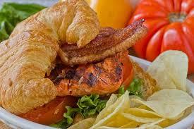 grilling recipe smoky salmon blts kitchn