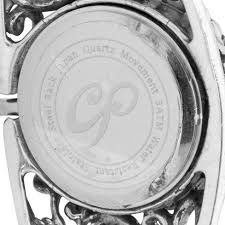 sterling silver bracelet watches images Cp signature sterling silver cuff bracelet watch carolyn pollack jpg