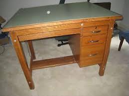 Mayline Ranger Drafting Table Large Oak Mayline Drafting Table With Mutoh Drafting Machine Model L 2