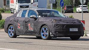 lynk u0026 co 03 sedan spied before its production debut
