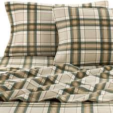 buy plaid flannel sheets from bed bath beyond