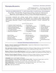 Anatomy Of A Data Analyst Resume Level Blog Clinical Analyst Sample Resume Brock Lunardi Clinical Analyst