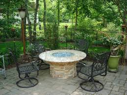 Outdoor Furniture With Fire Pit by Fire Pit Tables Outdoor Living Of New Jersey