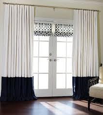 bordered linen linen custom drapes drapestyle com