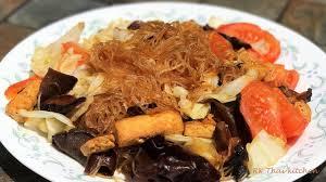 cuisine vegetalienne ผ ดว นเส นเจ stir fry glass noodles vegan recipes