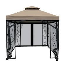 Home Design 9 X 10 by Garden Hampton Bay Gazebo For Inspiring Pergola Design Ideas