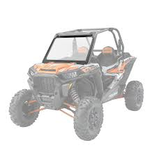 lock u0026 ride vented windshield glass polaris rzr