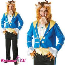 Mens Disney Halloween Costumes Mens Beast Disney Beauty Beast Costume Prince