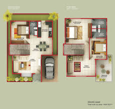 30x40 duplex house floor plan awesome bedroom plans latest charvoo
