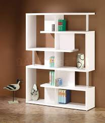 modern bookcase in white hutches bookcases 800310 6 interieur