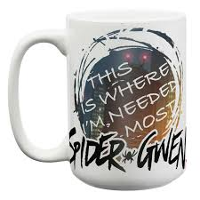 marvel spider gwen large coffee mugs for sale spider woman zak