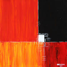 abstract paintings a collection of abstract art by simon fairless