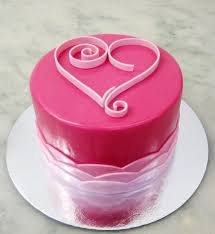 Valentine S Day Cake Decoration Ideas by 111 Best Cakes Heart Images On Pinterest Heart Cakes Biscuits