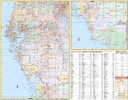 florida towns map map of central florida cities and towns deboomfotografie