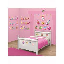 walltastic shopkins room decor wall sticker kit bedroom