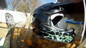 custom painted motocross helmets custom painted shoei vfx w youtube