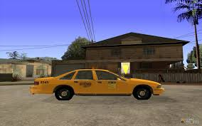 1993 chevrolet caprice taxi for gta san andreas