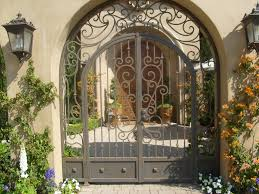 Wrought Iron Decorations Home by Nice Arched Wrought Iron Gate This Will Definitely Be The