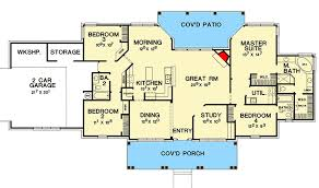 country home floor plans hill country home plan with options 3090d architectural