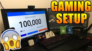 Gaming Setup Smallest Gaming Room Setup In The World 2017 Youtube Gaming