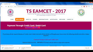 how to apply for ts eamcet application form 2017 online part 1