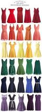 a rainbow of affordable bridesmaid dresses kiss my tulle