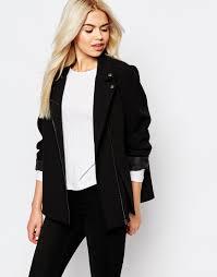 biker coat y a s sophie soft leather biker jacket ootd