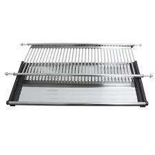 Kitchen Cabinet Plate Rack Storage by Kitchen Modern Kitchen Drying Racks For Storage Stainless Steel