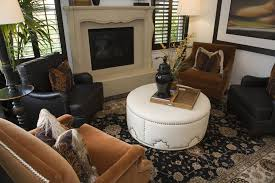 Leather Sofa And Armchair 50 Beautiful Living Rooms With Ottoman Coffee Tables
