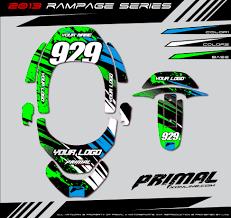 custom motocross helmet wraps neckbrace i d primal x motorsports motocross graphics atv