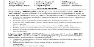 Project Manager Job Description For Resume by Project Portfolio Manager Job Description Portfolio Manager