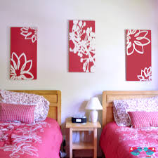 Ideas For A Guest Bedroom - working for the mom painting custom canvases for a guest bedroom