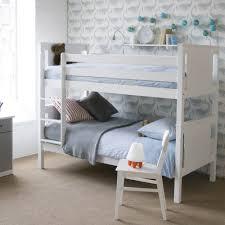 Beech Bunk Beds Folks Furniture Classic Beech Bunk Beds White