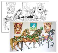 color escapes coloring kit americana crayola