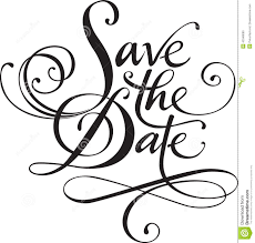 Save The Date Wedding Save The Date Clipart Clipartxtras