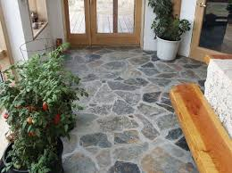 kid and pet friendly natural stone flooring