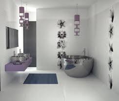 Tile Bathroom Design Simple And Neat Design Ideas Using Rectangular Cream Fur Rugs And