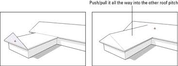 how to build a gabled roof in google sketchup 8 dummies