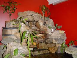 Indoor Waterfall Home Decor by Hollywood Living Room Modern View Villa Idolza