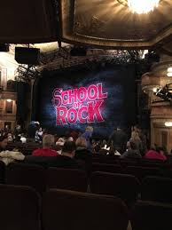 winter garden theatre section orchresta row s seat 30 34